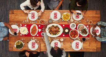 Plumbers celebrating thanksgiving